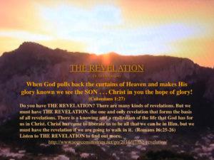 THE REVELATION.001